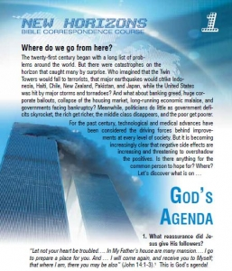 New Horizons Bible Course