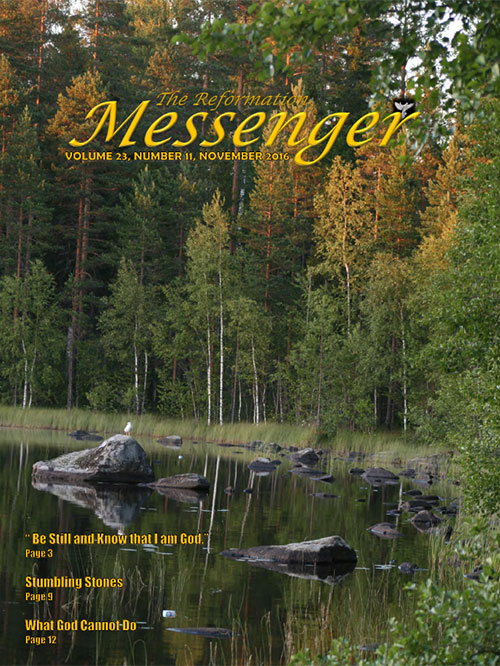 The Reformation Messenger - November 2016